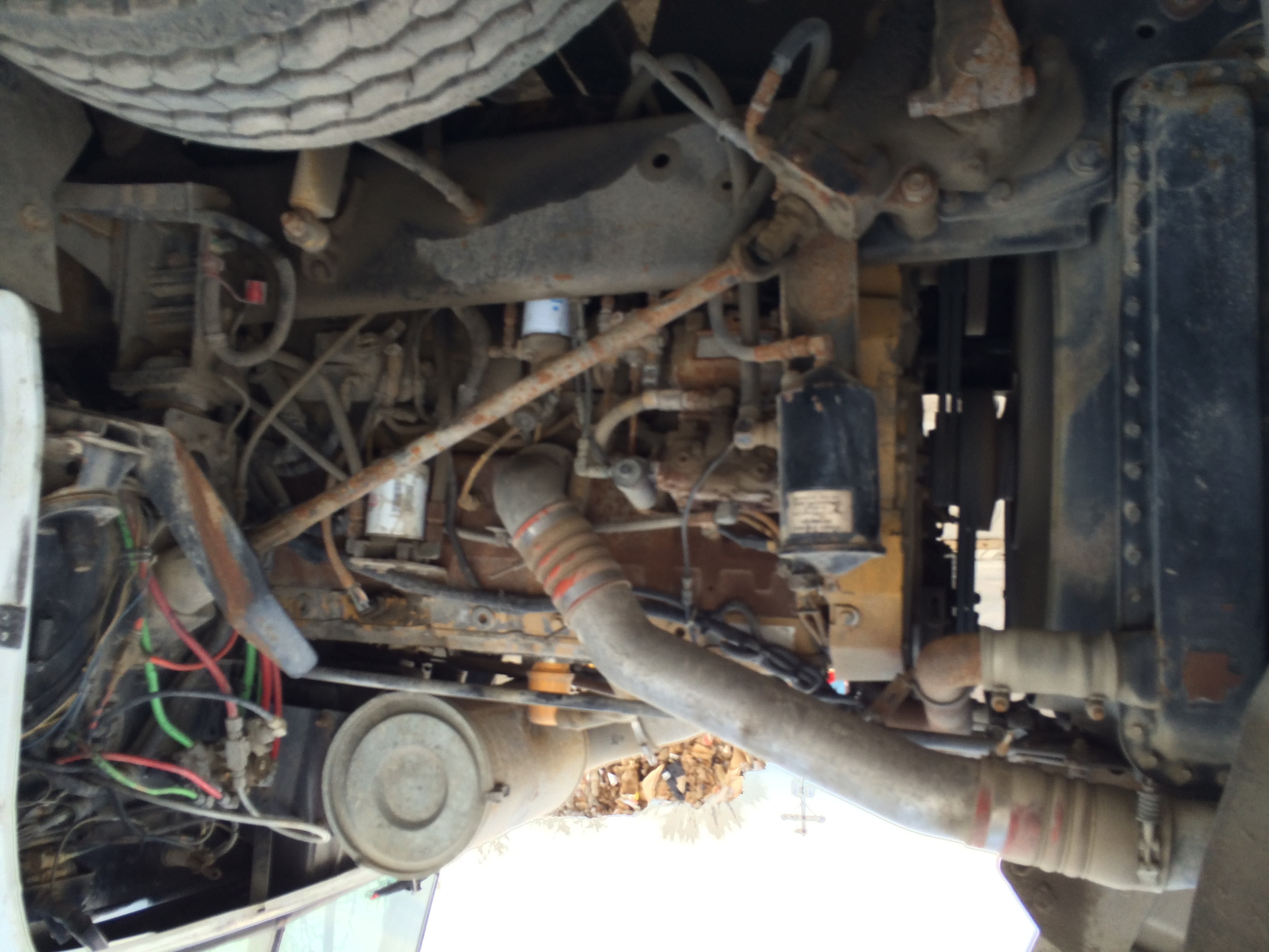 1977 Freightliner Kelly Equipment 3406e Caterpillar Engine Wiring For Img 0724 0726 0728 0732